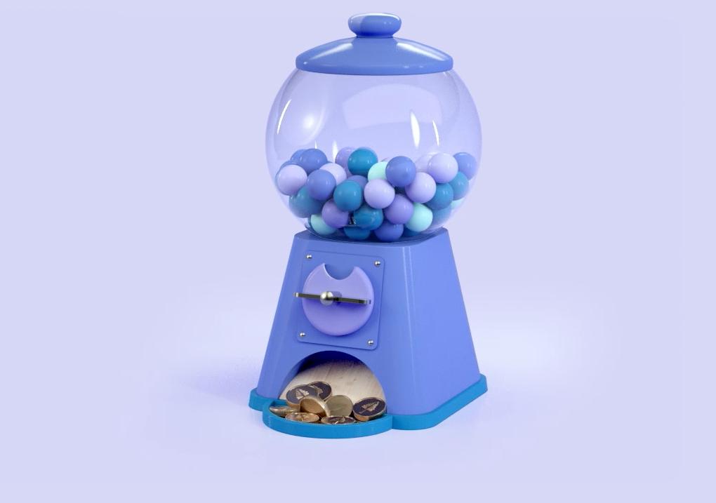 Treetop Online Bubblegum machine